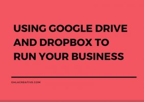 Using Google Drive And DropBox To Run Your Business