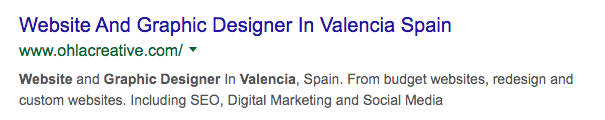 Website and Graphic Design In Valencia Spain